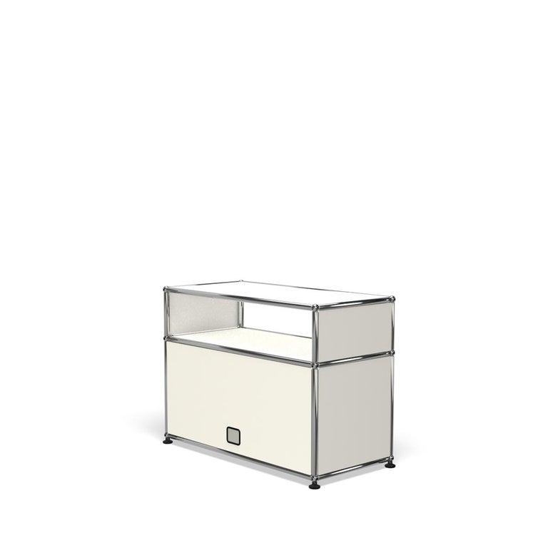 For Sale: White (Pure White) Haller Side Table 0118 by USM 5