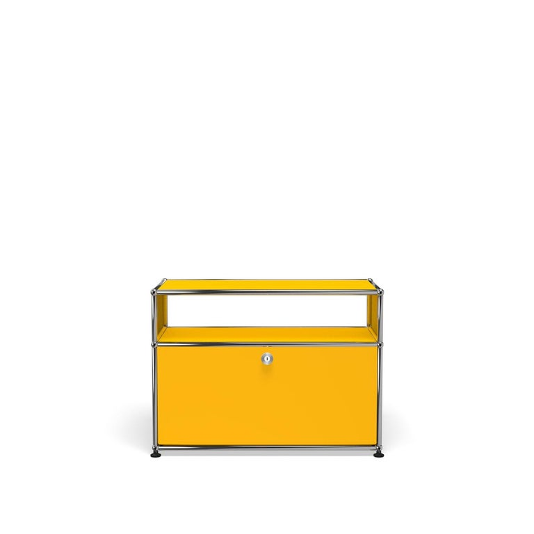 For Sale: Yellow (Golden Yellow) Haller Side Table 0118 by USM