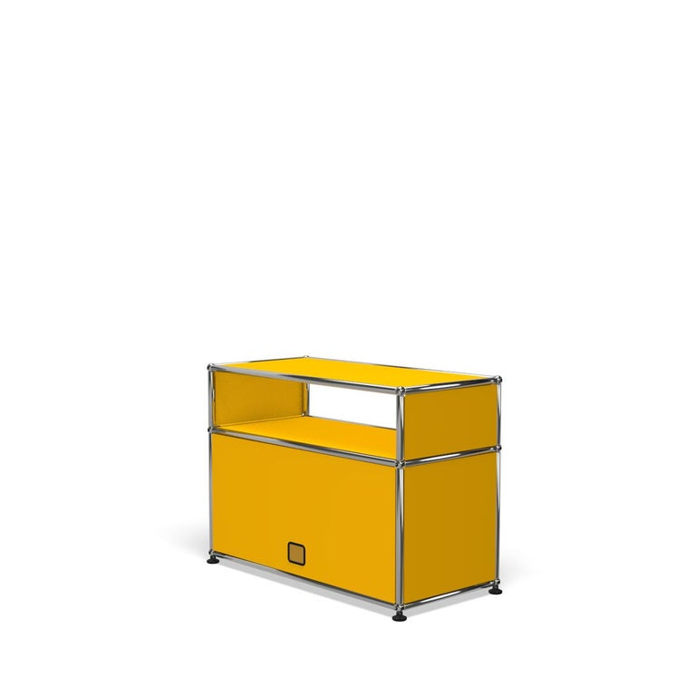 For Sale: Yellow (Golden Yellow) Haller Side Table 0118 by USM 5