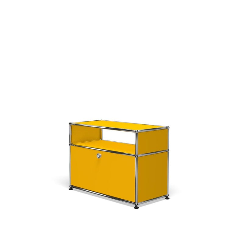 For Sale: Yellow (Golden Yellow) Haller Side Table 0118 by USM 2