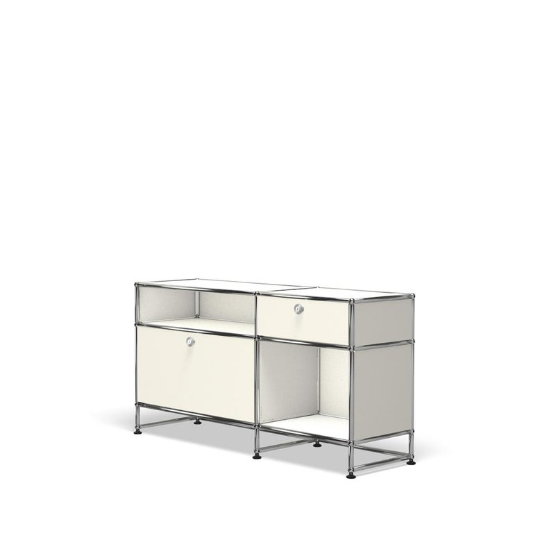 For Sale: White (Pure White) USM Haller Media O3 Storage System 2