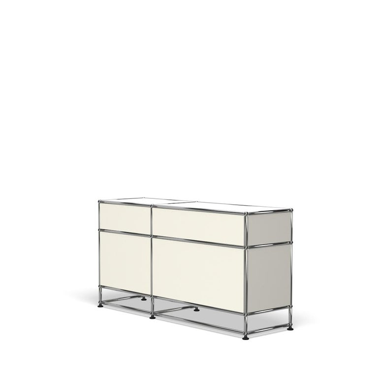 For Sale: White (Pure White) USM Haller Media O3 Storage System 5