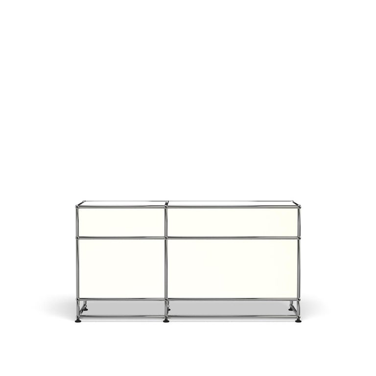 For Sale: White (Pure White) USM Haller Media O3 Storage System 4