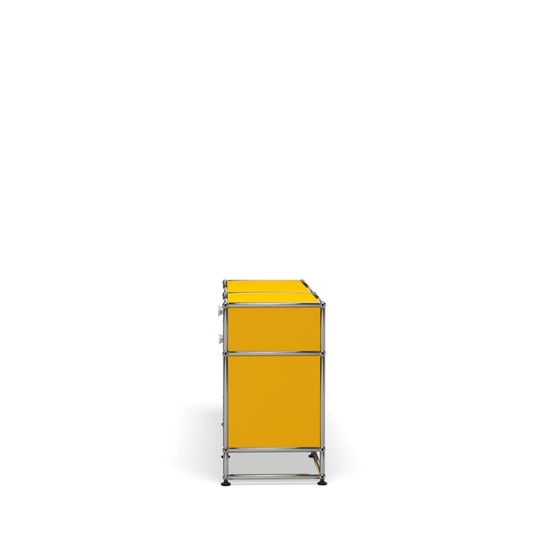 For Sale: Yellow (Golden Yellow) USM Haller Media O3 Storage System 3