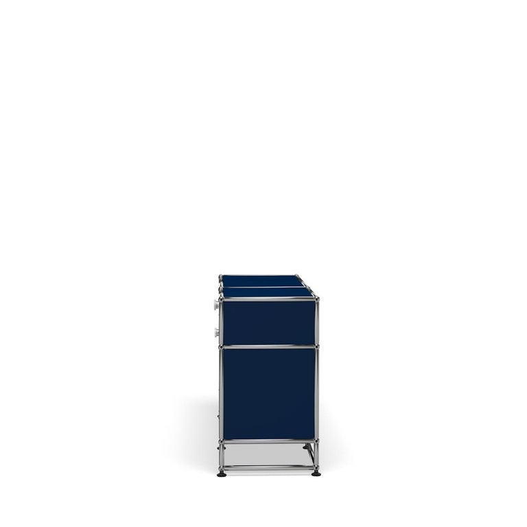 For Sale: Blue (Steel Blue) USM Haller Media O3 Storage System 3