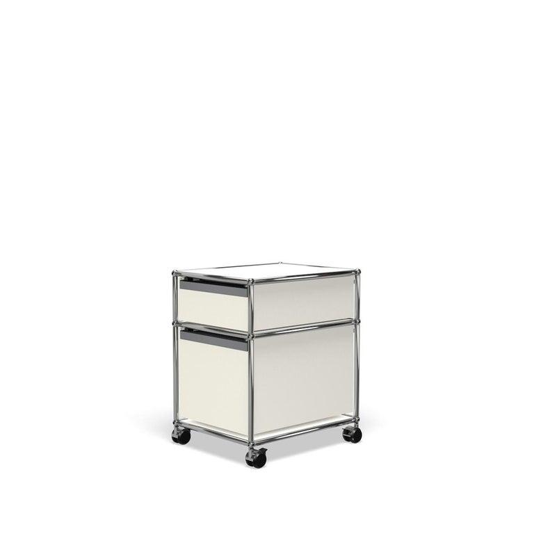 For Sale: White (Pure White) USM Haller Pedestal M Storage System 5
