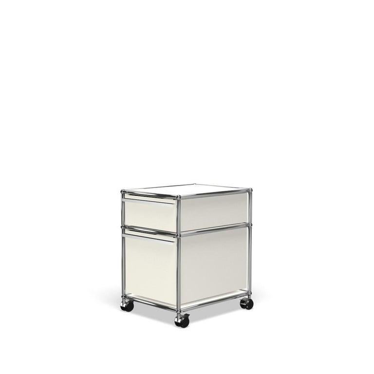 For Sale: White (Pure White) USM Haller Pedestal M Storage System 2