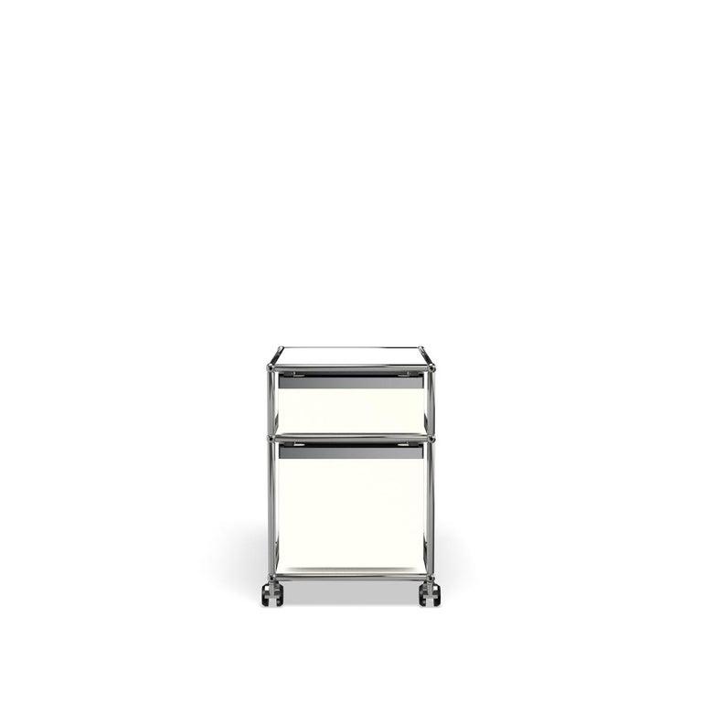 For Sale: White (Pure White) USM Haller Pedestal M Storage System 4