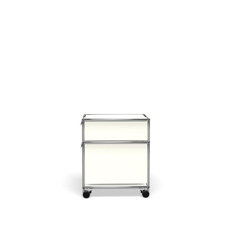 For Sale: White (Pure White) USM Haller Pedestal M Storage System 3