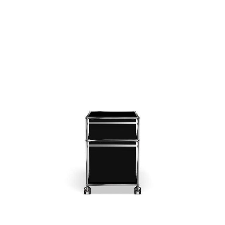 For Sale: Black (Graphite Black) USM Haller Pedestal M Storage System