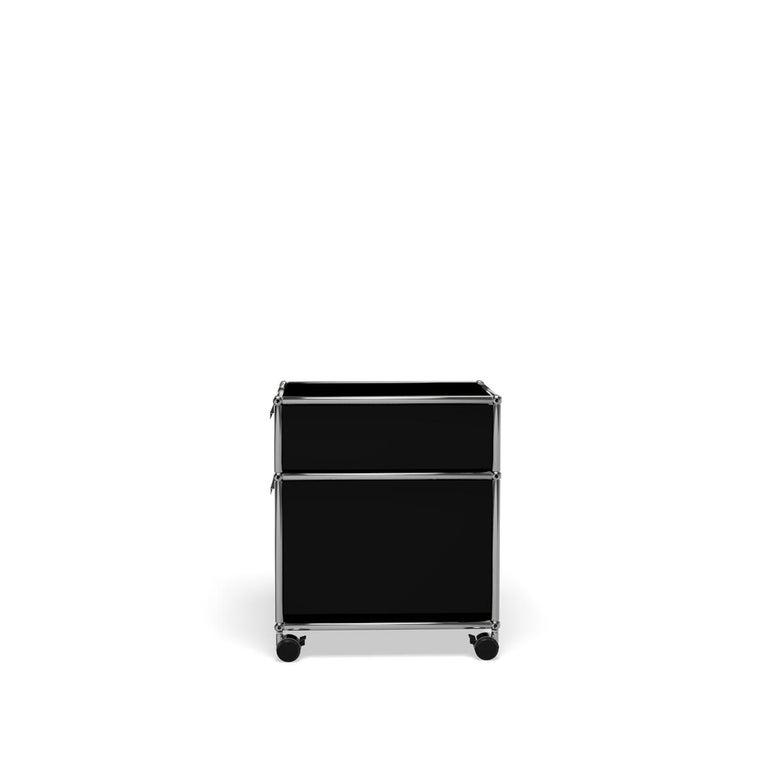 For Sale: Black (Graphite Black) USM Haller Pedestal M Storage System 3