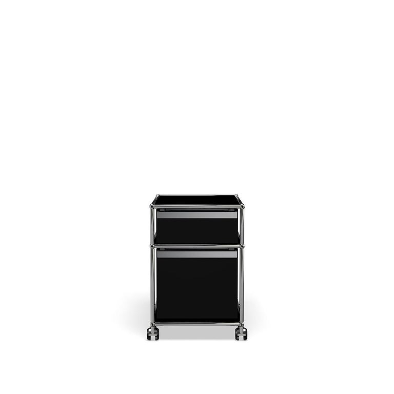 For Sale: Black (Graphite Black) USM Haller Pedestal M Storage System 4