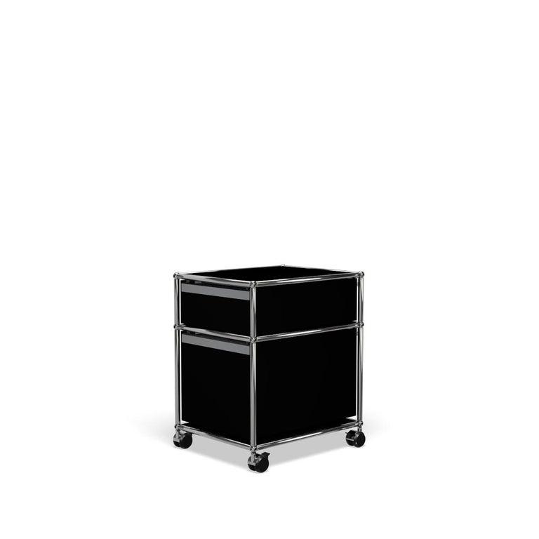 For Sale: Black (Graphite Black) USM Haller Pedestal M Storage System 5