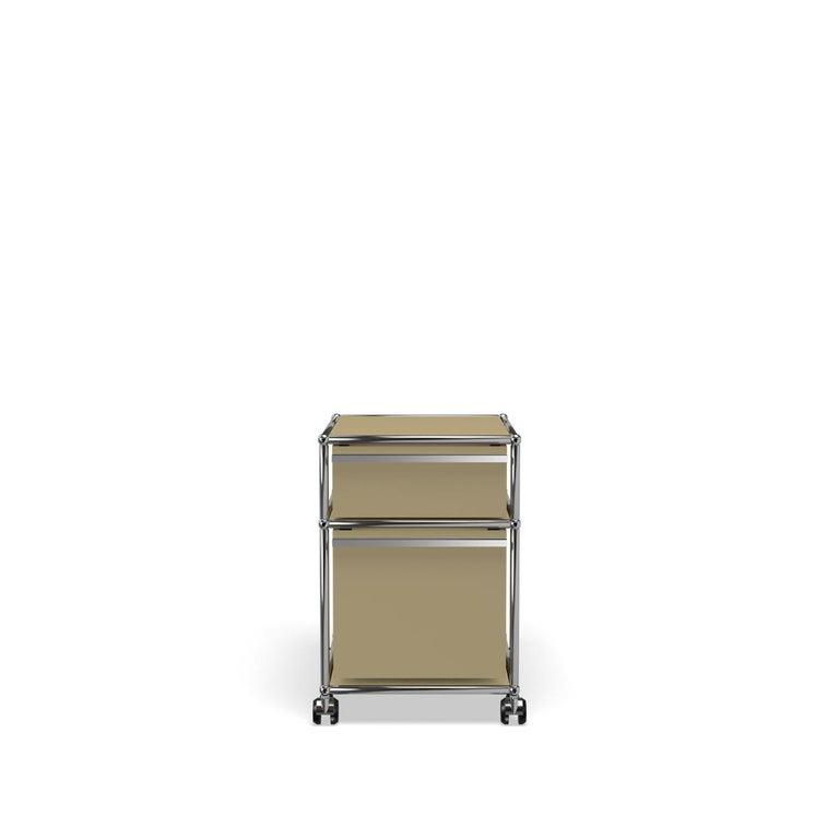 For Sale: Beige USM Haller Pedestal M Storage System