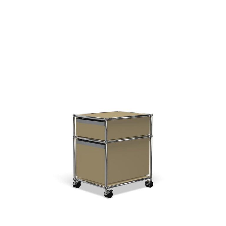 For Sale: Beige USM Haller Pedestal M Storage System 5