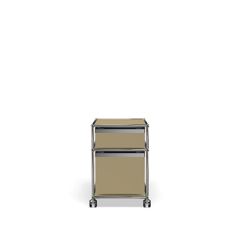 For Sale: Beige USM Haller Pedestal M Storage System 4