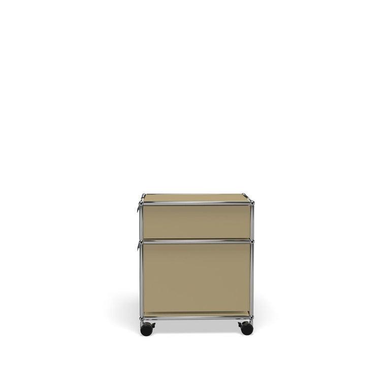 For Sale: Beige USM Haller Pedestal M Storage System 3