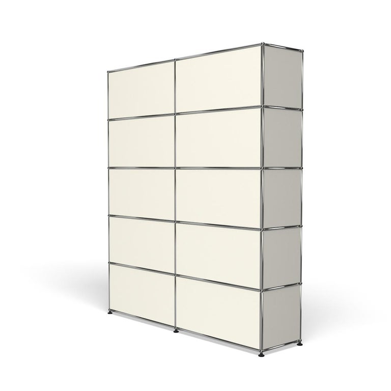 For Sale: White (Pure White) Haller Shelving H2 Storage System by USM 5