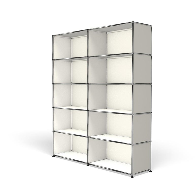 For Sale: White (Pure White) Haller Shelving H2 Storage System by USM 2
