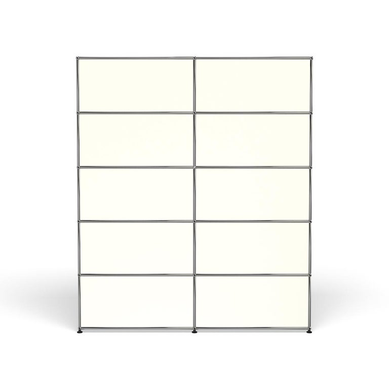 For Sale: White (Pure White) Haller Shelving H2 Storage System by USM 4