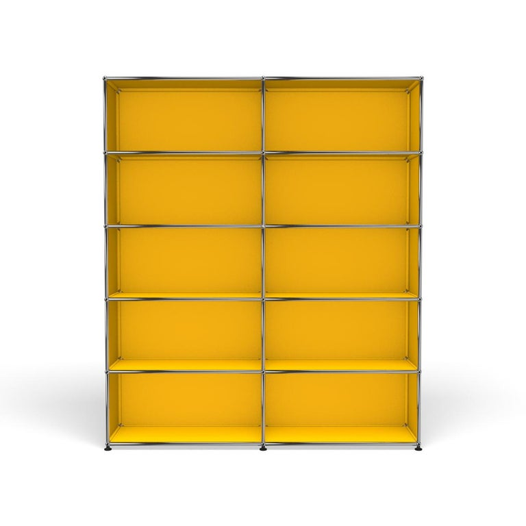 For Sale: Yellow (Golden Yellow) Haller Shelving H2 Storage System by USM