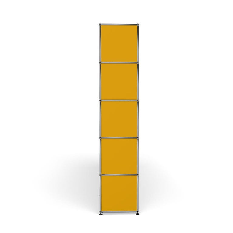 For Sale: Yellow (Golden Yellow) Haller Shelving H2 Storage System by USM 3