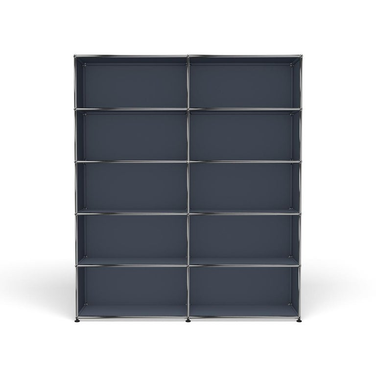 For Sale: Gray (Anthracite) Haller Shelving H2 Storage System by USM