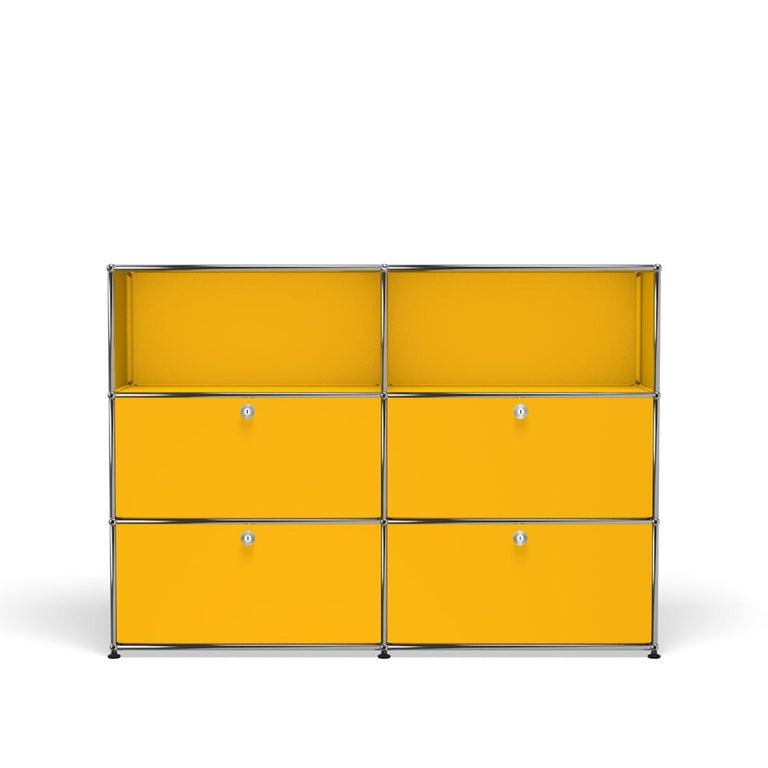 For Sale: Yellow (Golden Yellow) USM Haller Storage G2A Storage System