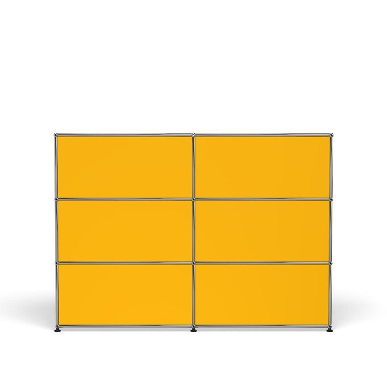For Sale: Yellow (Golden Yellow) USM Haller Storage G2A Storage System 4