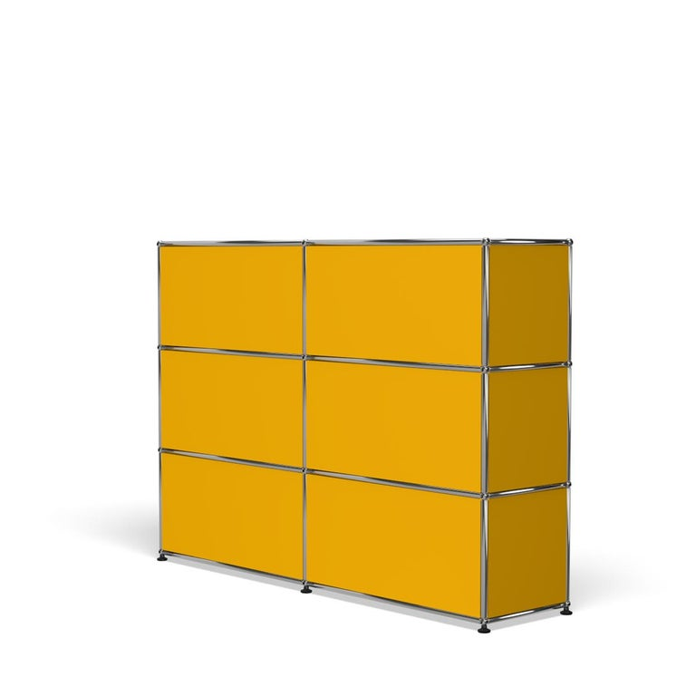 For Sale: Yellow (Golden Yellow) USM Haller Storage G2A Storage System 5