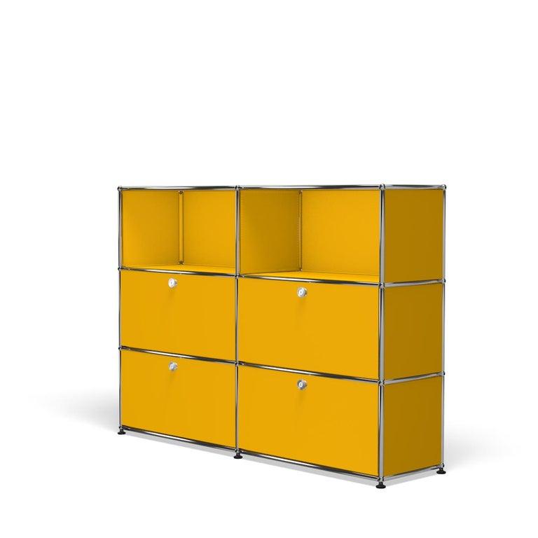 For Sale: Yellow (Golden Yellow) USM Haller Storage G2A Storage System 2