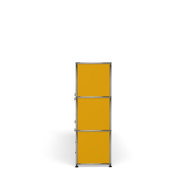 For Sale: Yellow (Golden Yellow) USM Haller Storage G2A Storage System 3