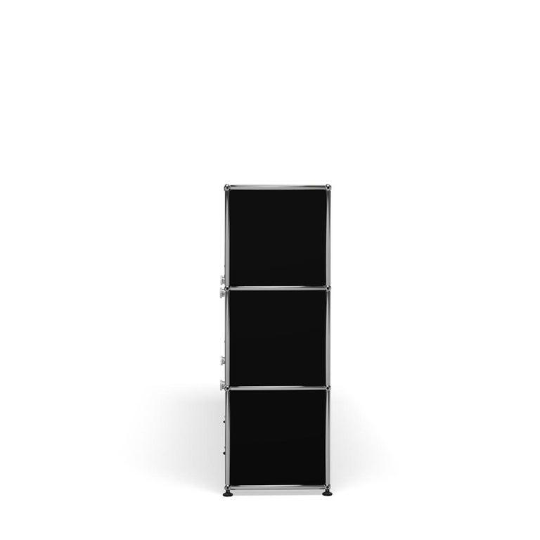 For Sale: Black (Graphite Black) USM Haller Storage G2A Storage System 3