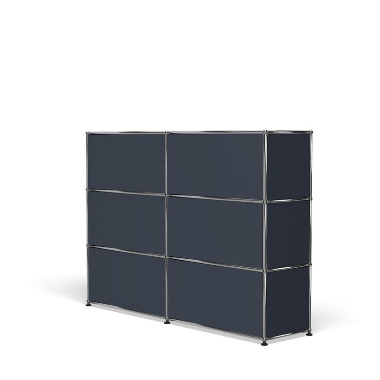 For Sale: Gray (Anthracite) USM Haller Storage G2A Storage System 5