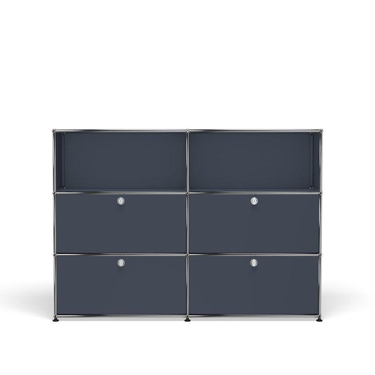 For Sale: Gray (Anthracite) USM Haller Storage G2A Storage System