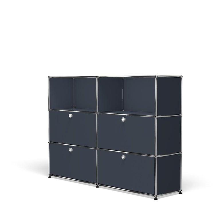 For Sale: Gray (Anthracite) USM Haller Storage G2A Storage System 2