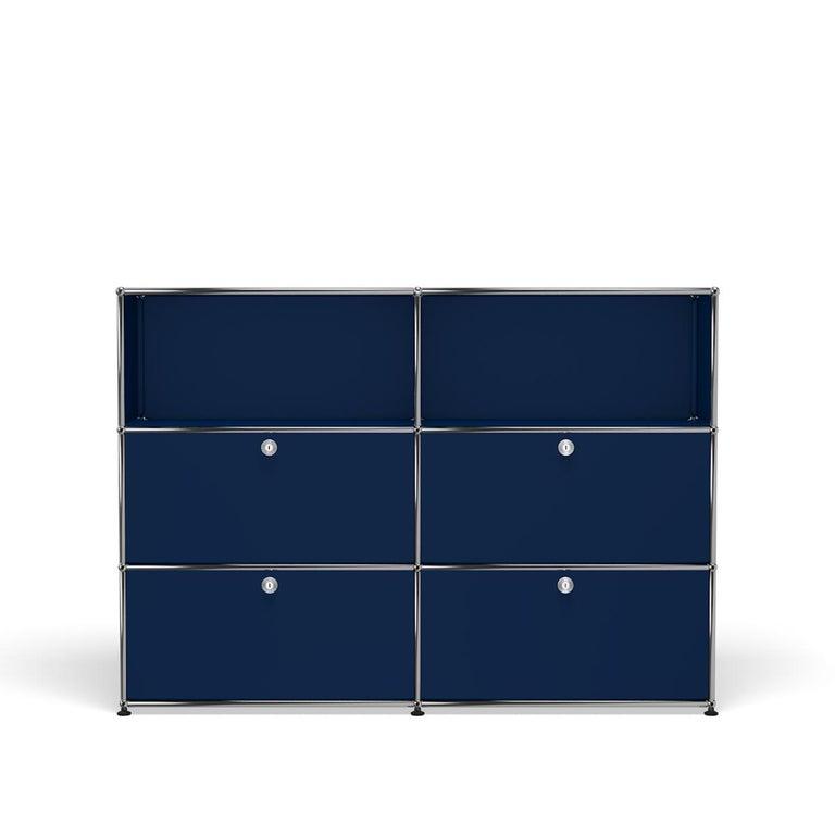 For Sale: Blue (Steel Blue) USM Haller Storage G2A Storage System