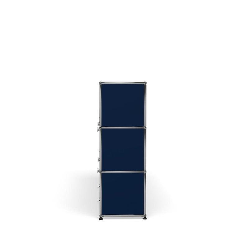 For Sale: Blue (Steel Blue) USM Haller Storage G2A Storage System 3