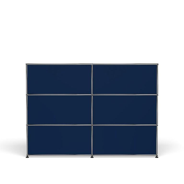 For Sale: Blue (Steel Blue) USM Haller Storage G2A Storage System 4