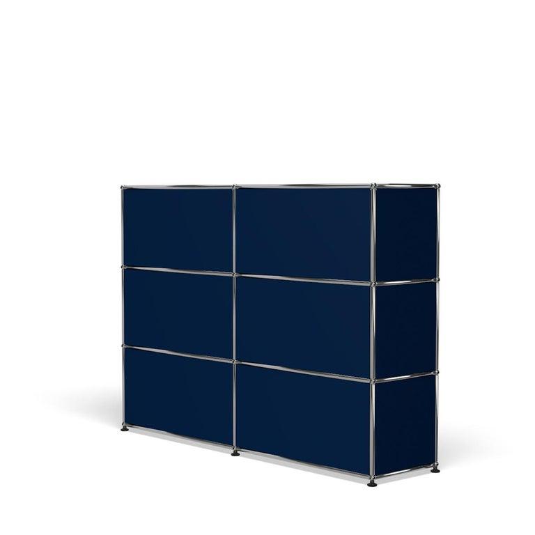 For Sale: Blue (Steel Blue) USM Haller Storage G2A Storage System 5