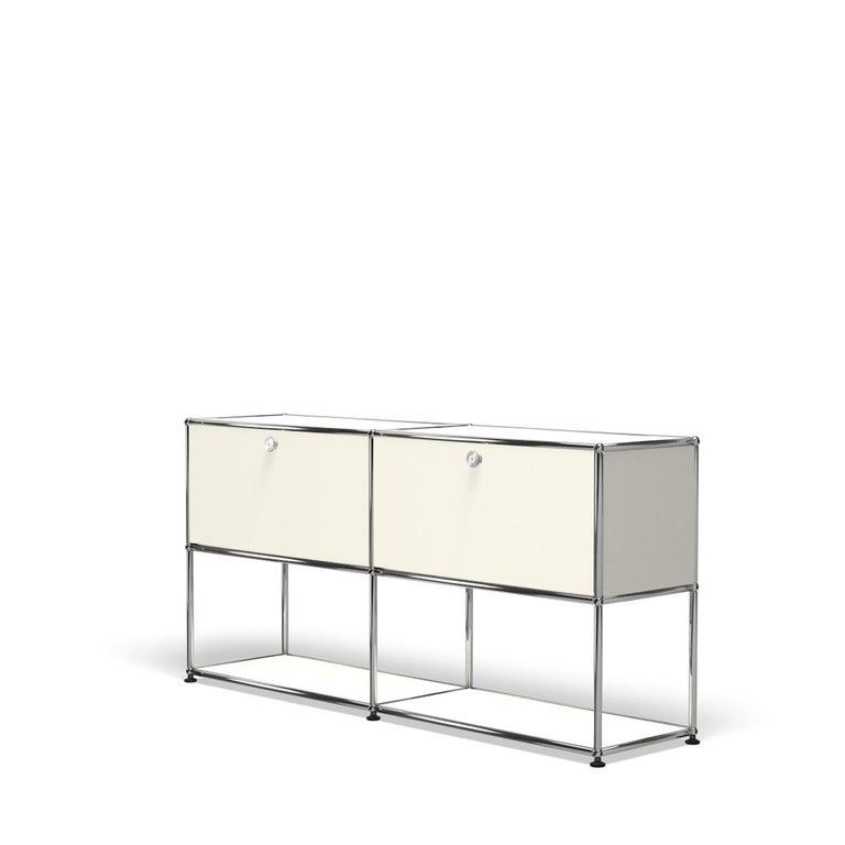 For Sale: White (Pure White) USM Haller Credenza F2 Storage System 2