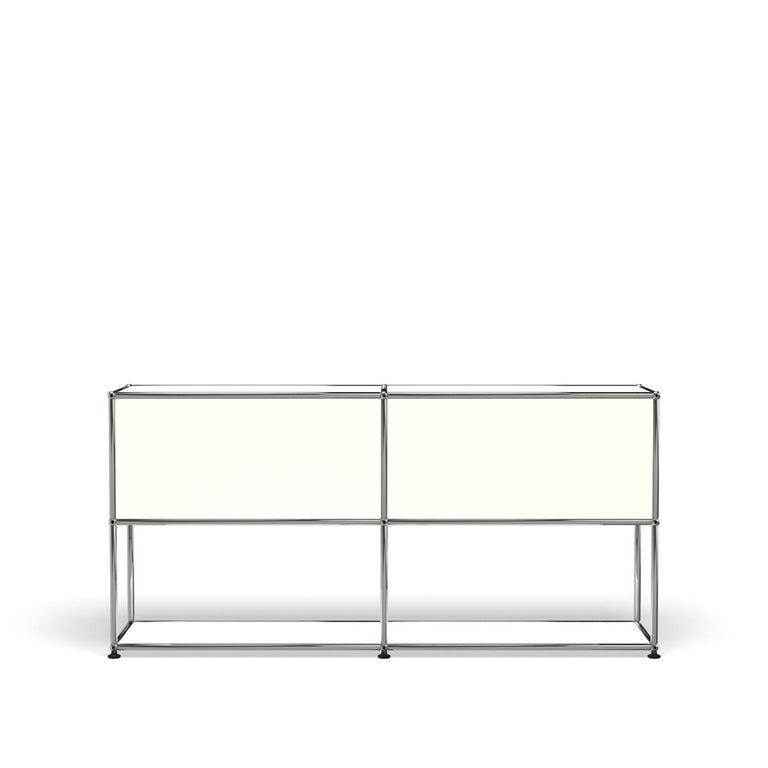 For Sale: White (Pure White) USM Haller Credenza F2 Storage System 4