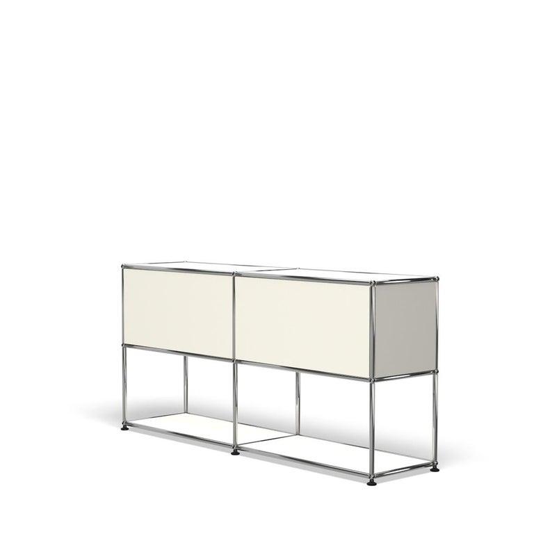 For Sale: White (Pure White) USM Haller Credenza F2 Storage System 5