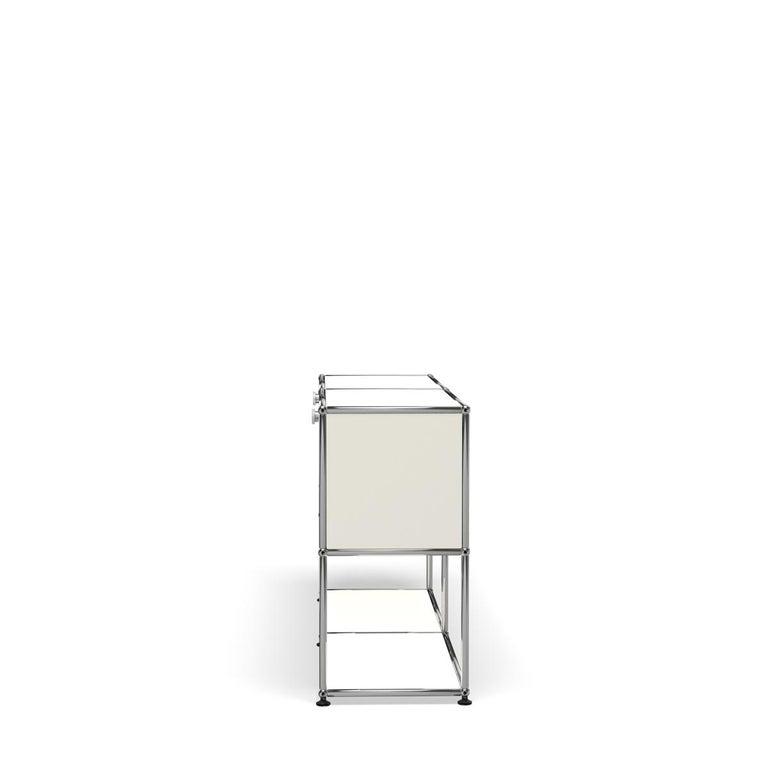 For Sale: White (Pure White) USM Haller Credenza F2 Storage System 3