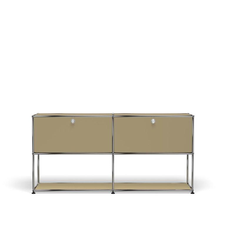 For Sale: Beige USM Haller Credenza F2 Storage System