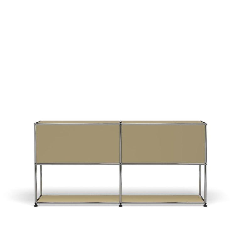 For Sale: Beige USM Haller Credenza F2 Storage System 4