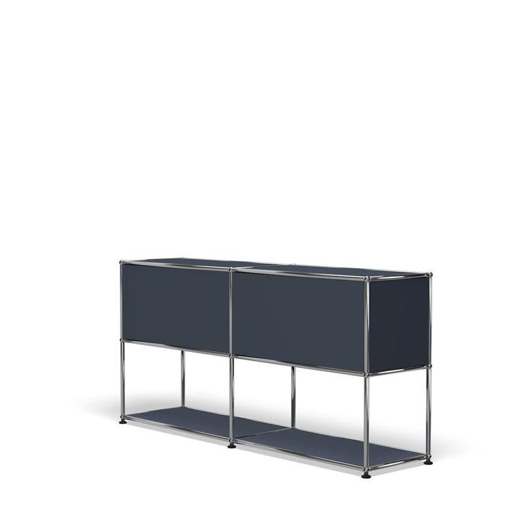 For Sale: Gray (Anthracite) USM Haller Credenza F2 Storage System 5
