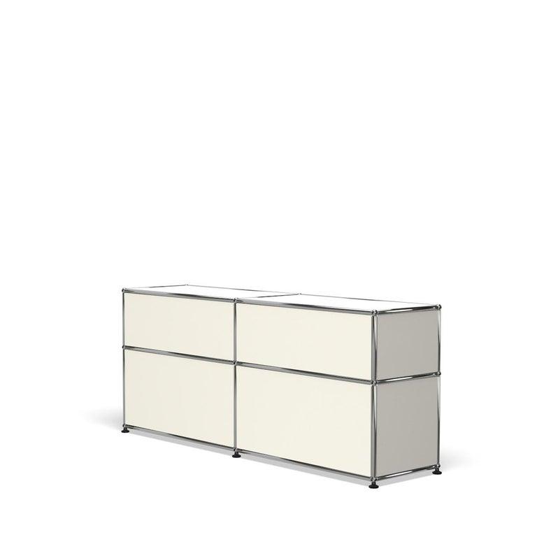 For Sale: White (Pure White) USM Haller Mid Credenza D Storage System 5