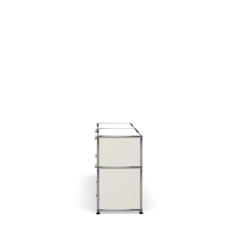 For Sale: White (Pure White) USM Haller Mid Credenza D Storage System 3