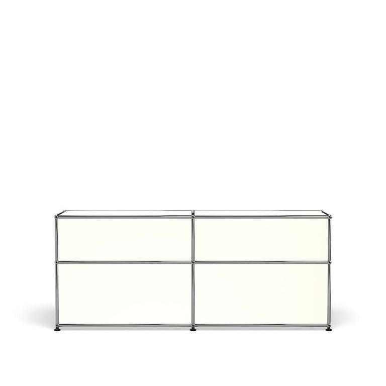 For Sale: White (Pure White) USM Haller Mid Credenza D Storage System 4